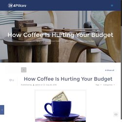 How Coffee Is Hurting Your Budget