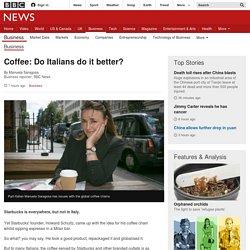 Coffee: Do Italians do it better?