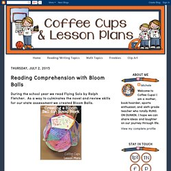 Coffee Cups and Lesson Plans: Reading Comprehension with Bloom Balls