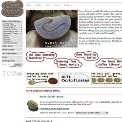 Home Coffee Roasting Supplies - Sweet Maria's