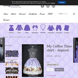 My Coffee Time – skirt – deposit – Lady Sloth