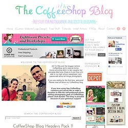 CoffeeShop Blog Headers Pack 1!