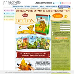 Coffret Disney « Le Roi Lion » : un magnifique coffret de 6 livres !