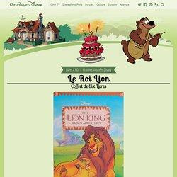 Le Roi Lion - Coffret de Six Livres