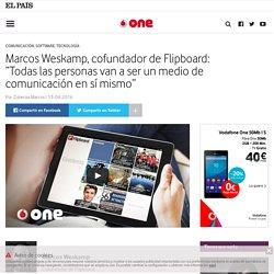 """Marcos Weskamp, cofundador de Flipboard: """"Todas las personas van a ser un medio en sí mismo"""" : One – Vodafone"""