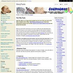 CogDogRoo - StoryTools