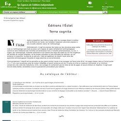 Terra cognita - Espaces de l'édition indépendante