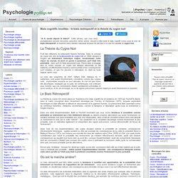 Biais cognitifs insolites : le biais restropectif et la théorie du cygne noir