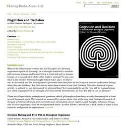 Cognition and Decision - Books