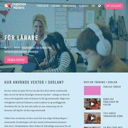 Cognition Matters Swedish › Teacher overview