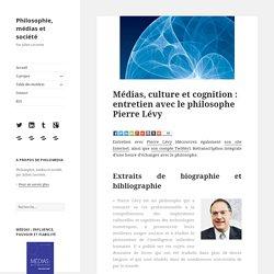 Médias, culture et cognition : entretien avec Pierre Lévy
