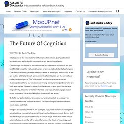 The Future Of Cognition