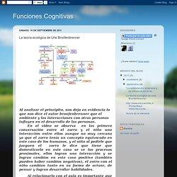 Funciones Cognitivas: La teoría ecológica de Urie Bronfenbrenner