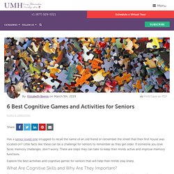 6 Best Cognitive Games and Activities for Seniors