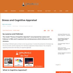 Stress and Cognitive Appraisal - Lazarus and Folkman