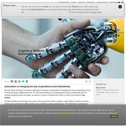 Cognitive Robotic Process Automation for a Digital Workforce - EY India - EY - India