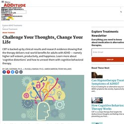 Cognitive Behavioral Therapy for ADHD