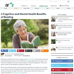 4 Cognitive And Mental Health Benefits Of Reading