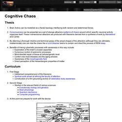 Cognitive Chaos