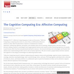The Cognitive Computing Era: Affective Computing