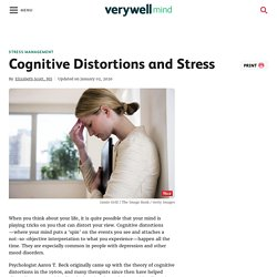 Cognitive Distortions and Stress