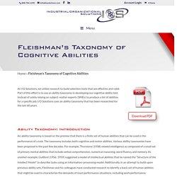 Cognitive Ability Test
