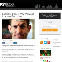 Cognitive Biases: Why We Make Irrational Decisions