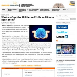 What are Cognitive Skills and Abilities?