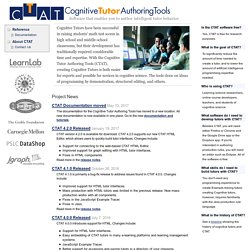 Cognitive Tutor Authoring Tools: Home
