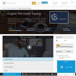 Cognos TM1 Online Course in India