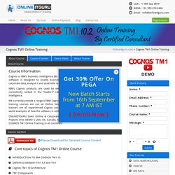 Cognos TM1 Online Training - Online IT Guru