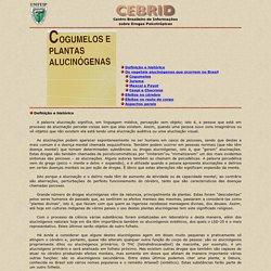 Cogumelos - Cebrid-Unifesp/EPM