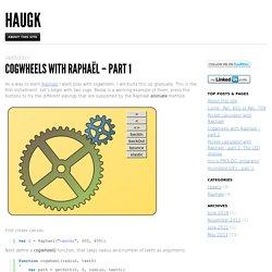 gwheels with Raphaël – part 1