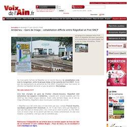 Ambérieu – Gare de triage : cohabitation difficile entre RégioRail et Fret SNCF