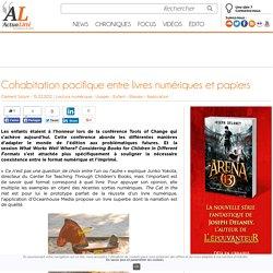Cohabitation pacifique entre livres numériques et papiers
