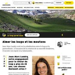 La fondation Jean-Marc Landry pour la cohabitation loup-pastoralisme
