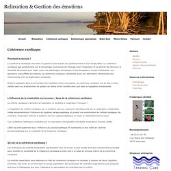 Relaxation & Gestion des émotions