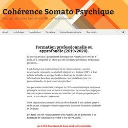 - Cohérence Somato Psychique