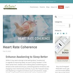 Heart Coherence Technique for Mental Health