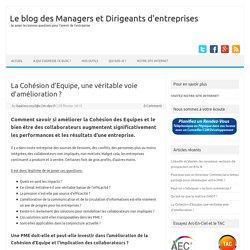 Cohésion d'Equipe, un levier de performance pour les PME ?