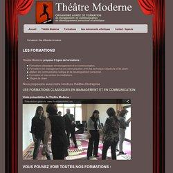 Besoin d'une cohésion d'équipe, de prendre la parole en public, de gérer un conflit, de conduire une réunion… avec le théâtre?