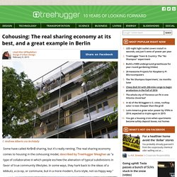 Cohousing: The real sharing economy at its best, and a great example in Berlin