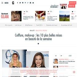Coiffure, make-up : les 10 plus belles mises en beauté de la semaine