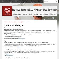 Coiffure - Esthétique > Documents clés