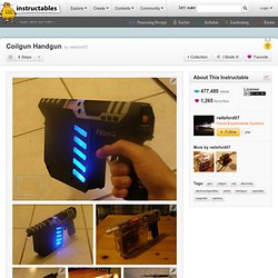 Coilgun Handgun