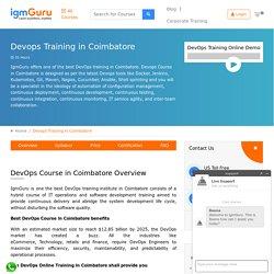 Best DevOps Training in Coimbatore