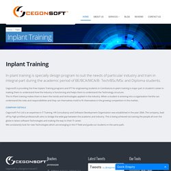 Free Inplant Training Engineering Students