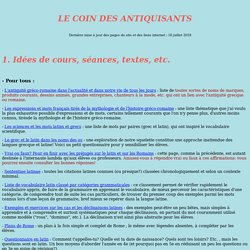 Coin antiquisants