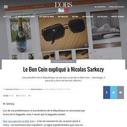 Le Bon Coin expliqué à Nicolas Sarkozy