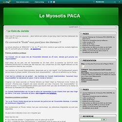 Le Coin du Juriste - Le blog des Provinces de la Région PACA